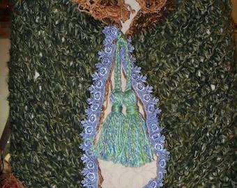 Woodland Fairy Nymph Cloak/OOAK/Unique/Fantasy Artwear