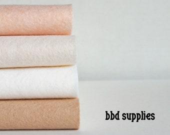 Fresh Linens - Wool Blend Felt Sheets - 4 sheets