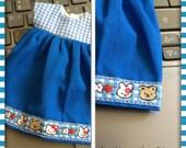 Hello Kitty Blue Gingham Dress / Blythe / Pullip