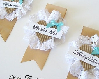 Bride to Be, Bridal Shower, Baby Shower, Rosette bridal badge, corsage, bachelorette, bridal badge