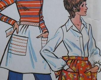 Retro Apron Sewing Pattern UNCUT McCalls