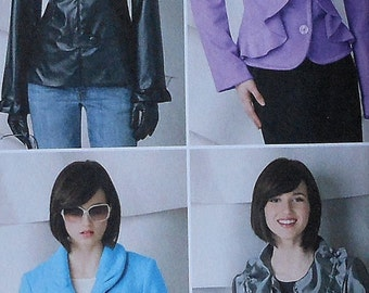 Jacket Sewing Pattern UNCUT Simplicity 2313 Sizes 16-24