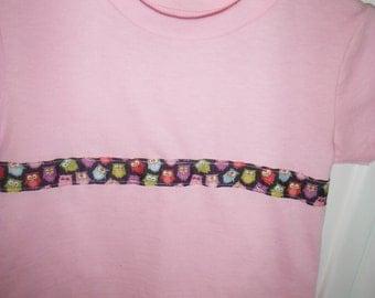 Toddler Owl T Shirt--Sooo Cute--Great Gift