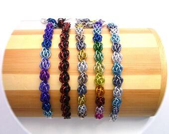CUSTOM COLORS - Sweet Pea Bracelet