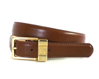 Vintage Anne Klein for Oroton Leather Belt // Size Medium