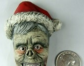 Zombie Christmas Horror Ornament