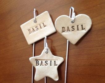 Basil Plant Marker