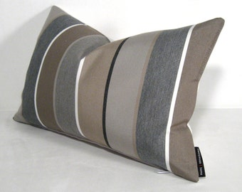 popular items for grey brown pillows on etsy. Black Bedroom Furniture Sets. Home Design Ideas