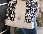 PDF Town Tote Bag Purse SEWING PATTERN