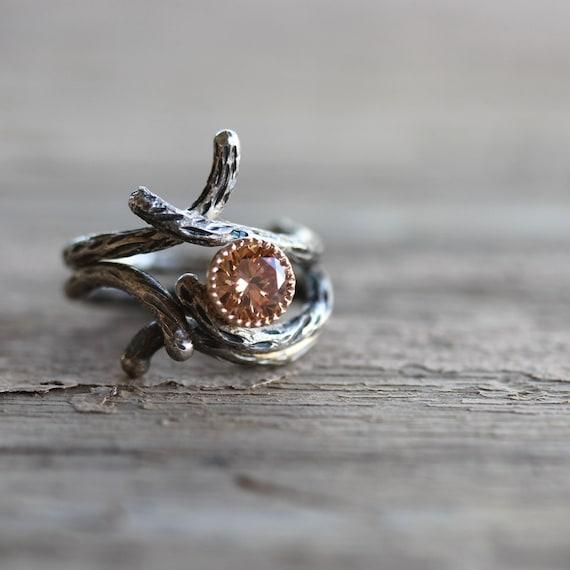 branch wedding rings - photo #6