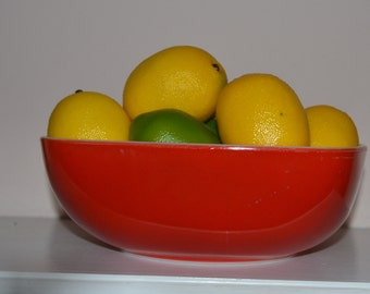 Pyrex Candy Apple Red Serving Bowl