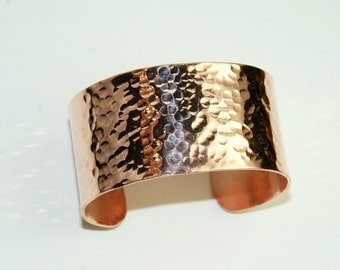 Copper Cuff, Large Copper Cuff, Unisex Copper Cuff, Hammered Copper, Medicinal Copper Jewelry, Copper Jewelry