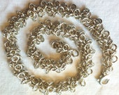 Special order for JHD - Shaggy Loops Anklet and Byzantine with Swaroski Anklet