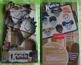 Kookie Kultura - Kids Cookie Cutter Set - set of 4