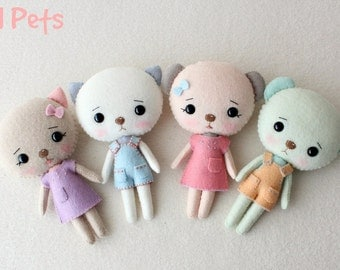 Li'l Pets pdf Pattern - Instant Download