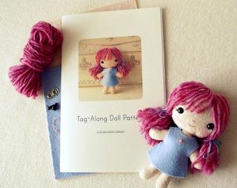 Doll Pattern, Pattern Kit, Doll Pattern Kit