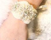Antonina Wedding Swarovski Bracelet, Bridal Crystal Bracelet, Wedding Cuff, crystal, bridesmaid gift, cuff, bridal, wedding, jewelry