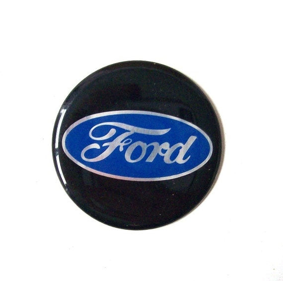 Classic Ford Emblems Decals : Vintage ford car emblem sticker auto by recyclebuyvintage