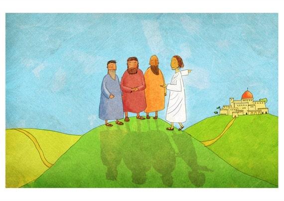 The Jesus Storybook Bible - 72 dpi Digital File (Page 322 - 323)