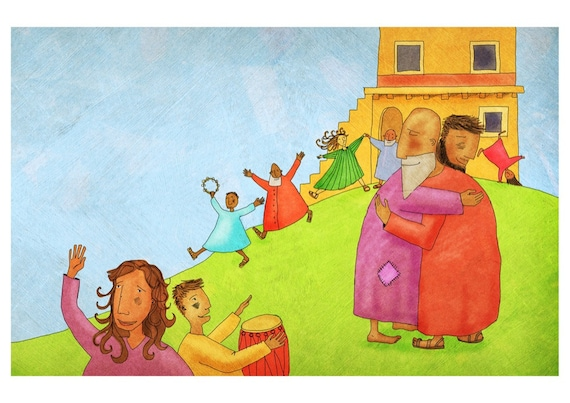 The Jesus Storybook Bible - Signed Print (Page 278 - 279)