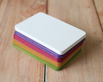 500pc TINTED Series Business Card Blanks