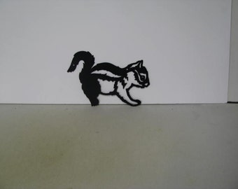 Chipmunk 006 Metal Wildlife Farm Wall Yard Art Silhouette