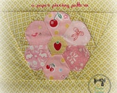 Grandmother's Flower : a Paper Piecing Pattern