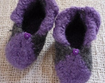 "18"" Doll Wool Felted Booties Slippers"