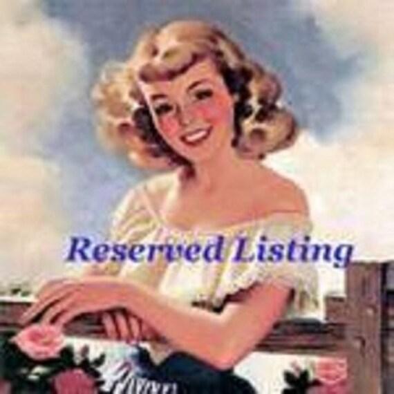 Reserved listing for Natalie(1) - SN83