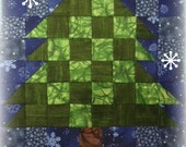 Block of The Month 2014 March's Block, Big Tree PDF Pattern