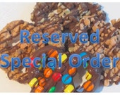 Reserved for SHYTOWN (Chocolate Covered Pretzels - 50 packages)