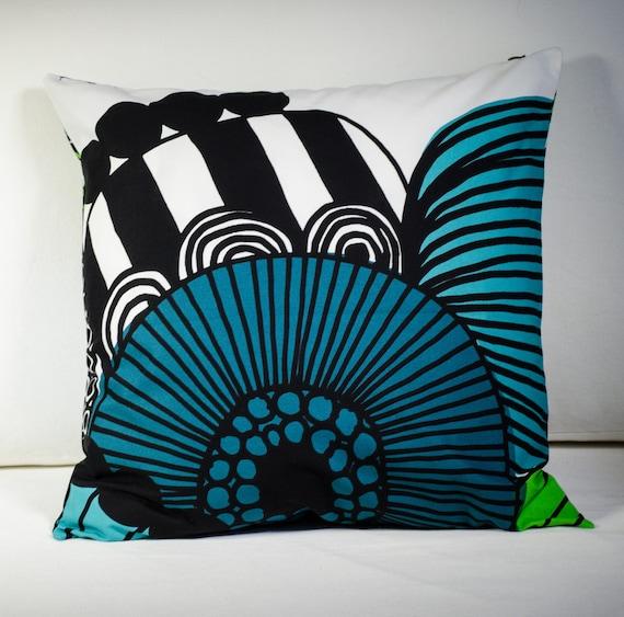 Marimekko Pillow Cover Decorative Pillow Handmade Pillow