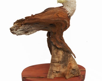 Eagle Point Original Rick Cain Eagle Sculpture 2014