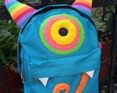 ZEEEK Monsterpak small monster backpack
