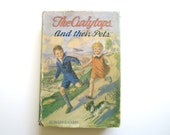 Vintage Book  The Curlytops and their Pets by Howard R. Garis  1921