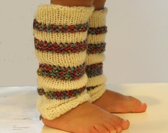 KNITTING PATTERN- Scarlett's Leg Warmers PDF