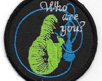 Alice in Wonderland,  Who Are You Caterpillar Patch