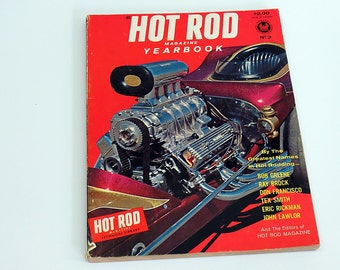 Hot Rod Magazine Yearbook 1963 No. 3 Rat Rot Automobile