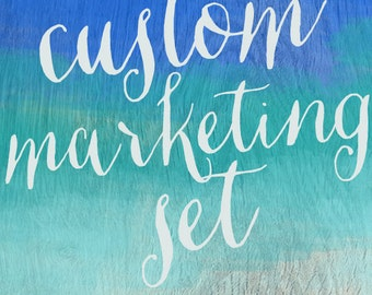 Custom Boutique Marketing Package - OOAK - Made to order