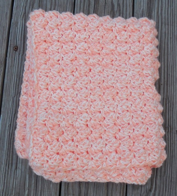 Crochet Double Strand Baby Blanket Pattern : Crochet Baby Blanket, Double Strand, Car Seat Cover ...