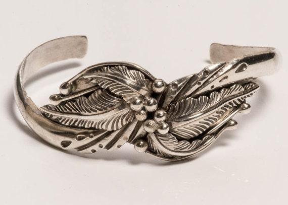 Sterling Cuff Bracelet Vintage