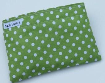 Reusable Eco Friendly Sandwich or Snack Bag Backhoe Construction