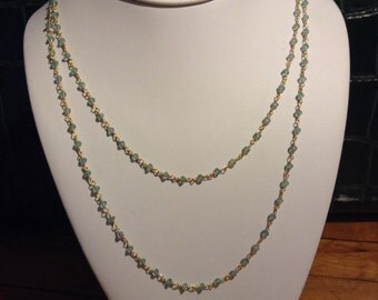 Light Blue Apatite Wrap