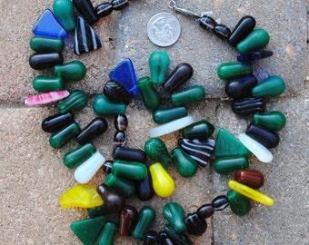African Wedding Beads: Larger Tear Drops