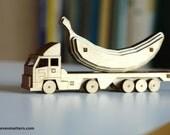 18 Wheeler Toy Kit - Build Your Own!