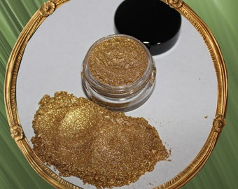 5g GOLDEN DEVOTION Natural Golden Crushed Mineral Makeup EYESHADOW