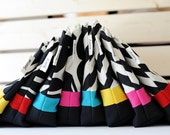 Zipper Pouch with Waterproof Lining // Make-up Bag // Wet Bag // Pool Accessory Pouch