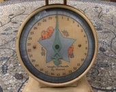Antique Infant Baby Weight Scale - Shabby Chic