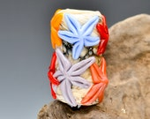 "3/8"" - Med. Starfish Coral Reef Dread Bead or Scarf Slide Bead - SRA"
