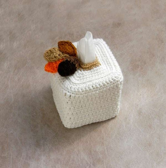Decorative Tissue Box Cover Rustic Modern By NutmegCottage